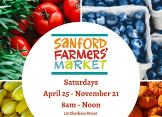 Sanford Farmers Marketing Banner